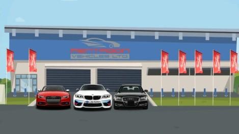 Pentagon Vehicles Zanimation Video Animation Company